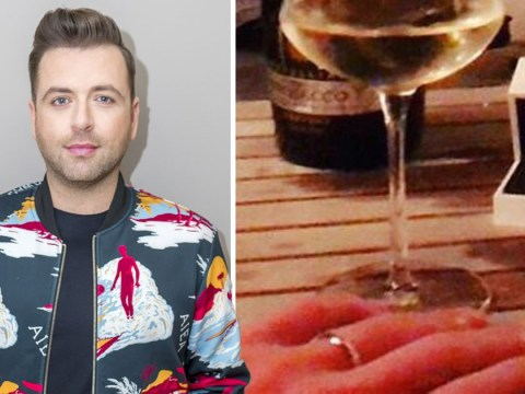 Westlife's Mark Feehily surprises fans and announces engagement to mystery man