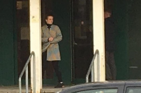 Jade Coles outside of Plymouth Crown Court. See SWNS story SWPLbite; Plymouth Mum found guilty of assault for BITING teenage boy while play fighting during a sleepover.