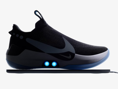Nike's futuristic self-lacing trainers break just days after they're released