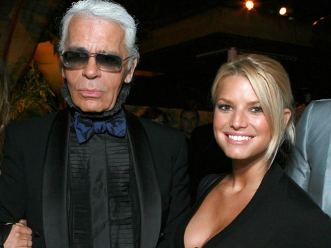 Jessica Simpson trolled over 'awkward' Karl Lagerfeld tribute