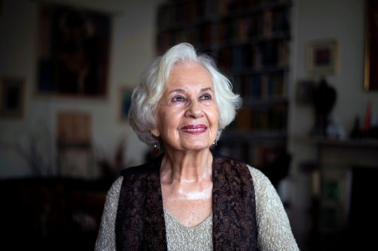 EMBARGOED TO 0001 MONDAY FEBRUARY 25 Polish holocaust survivor Ruth Posner, 89, at her home in north London. A year-long festival celebrating the cultural contribution of Nazi refugees to the UK will launch next month.PRESS ASSOCIATION Photo. Picture date: Tuesday February 19, 2019. Coinciding with the 80th anniversary of the Second World War, Insiders/Outsiders will showcase exhibitions, concerts, dance, theatre and film screenings at events across the UK. Former dancer and actress Ruth is one of the emigres whose story will be featured on film during the festival. See PA story ARTS Posner. Photo credit should read: Kirsty O'Connor/PA Wire