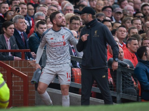 Liverpool boss Jurgen Klopp rubbishes 'bulls***' claims he shouted at Jordan Henderson & Sadio Mane