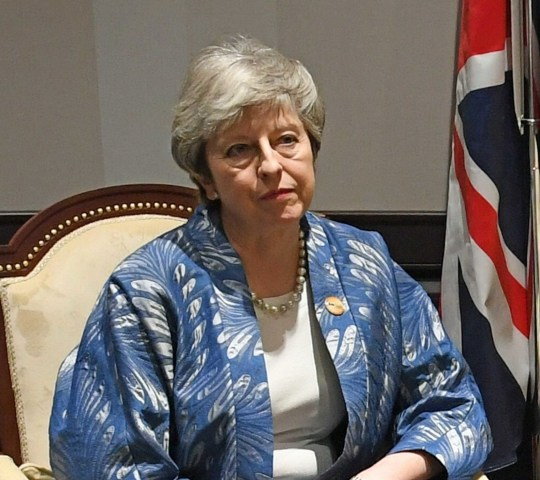 Prime Minister Theresa May attending the EU-League of Arab States Summit in Sharm El-Sheikh, Egypt. PRESS ASSOCIATION Photo. Picture date: Sunday February 24, 2019. See PA story POLITICS Egypt. Photo credit should read: Stefan Rousseau/PA Wire