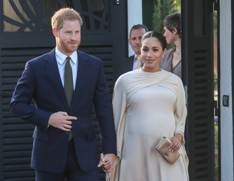 f7575bfe8 The Duke and Duchess of Sussex attend a reception hosted by the British  Ambassador to Morocco