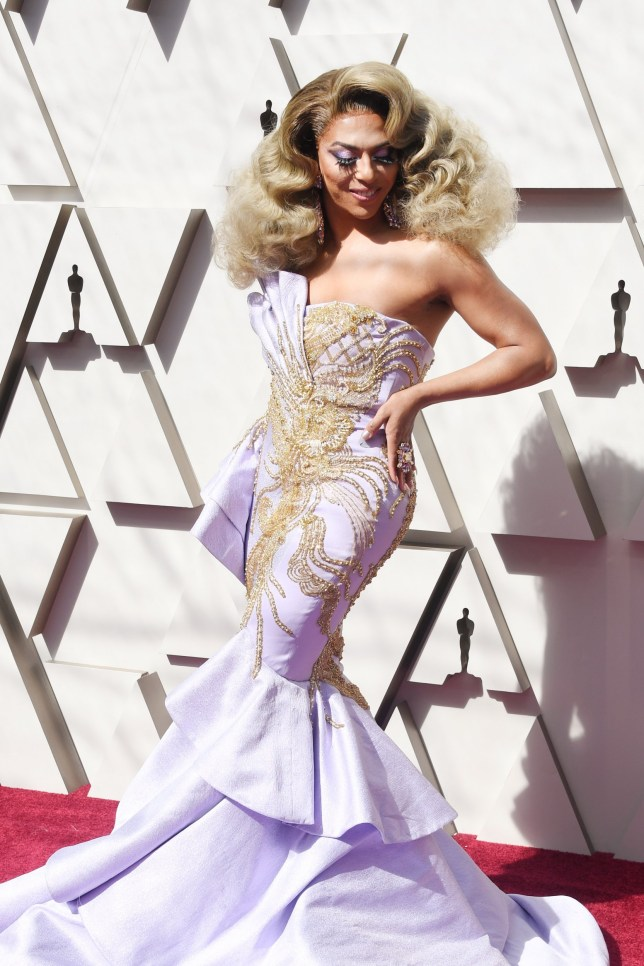 HOLLYWOOD, CALIFORNIA - FEBRUARY 24: Shangela attends the 91st Annual Academy Awards at Hollywood and Highland on February 24, 2019 in Hollywood, California. (Photo by Frazer Harrison/Getty Images)