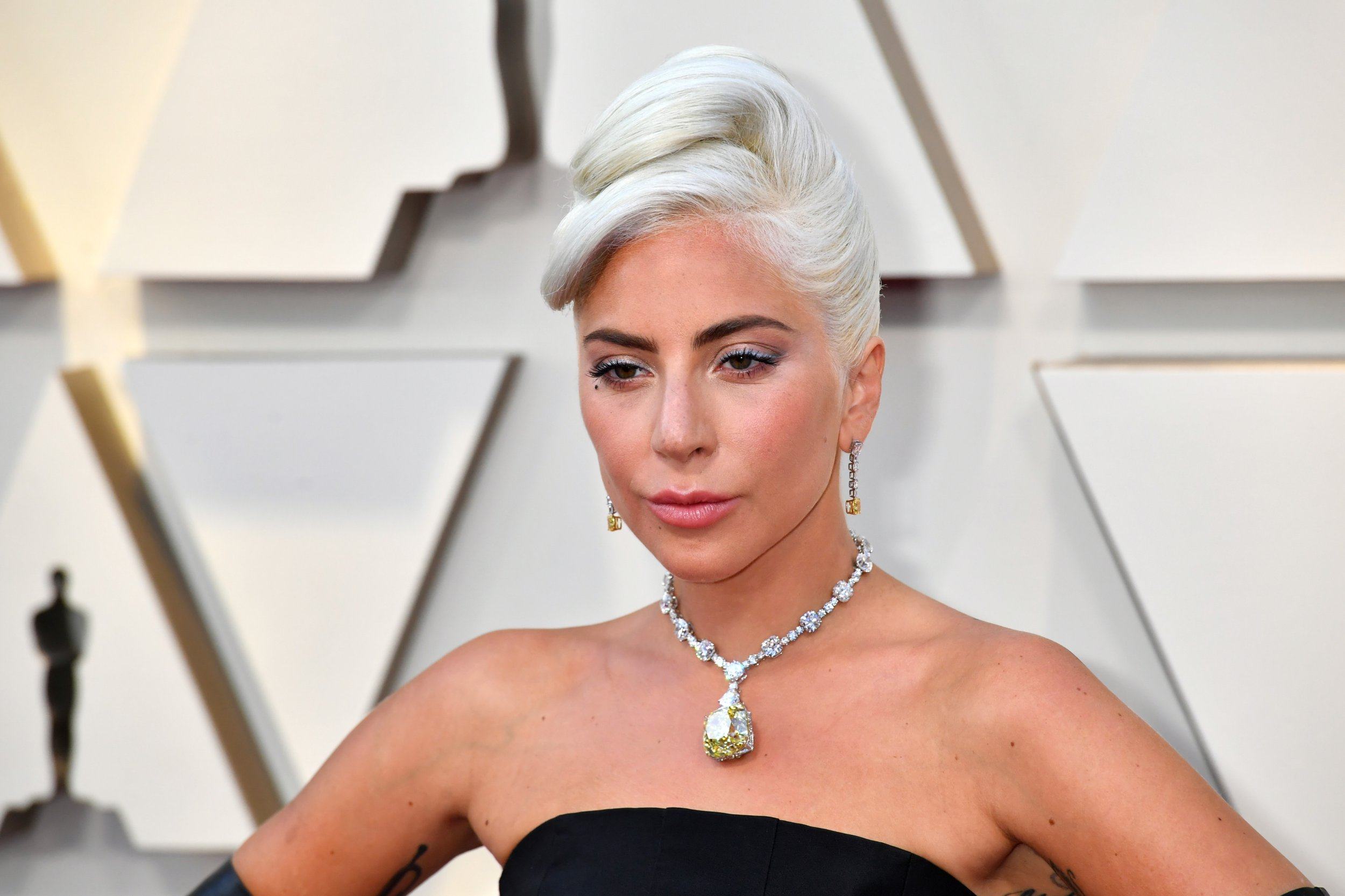 HOLLYWOOD, CA - FEBRUARY 24: Lady Gaga attends the 91st Annual Academy Awards at Hollywood and Highland on February 24, 2019 in Hollywood, California. (Photo by Jeff Kravitz/FilmMagic)