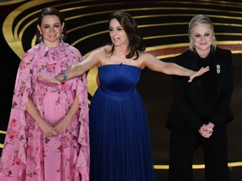 Why didn't Tina Fey, Amy Poehler and Maya Rudolph just host the Oscars?