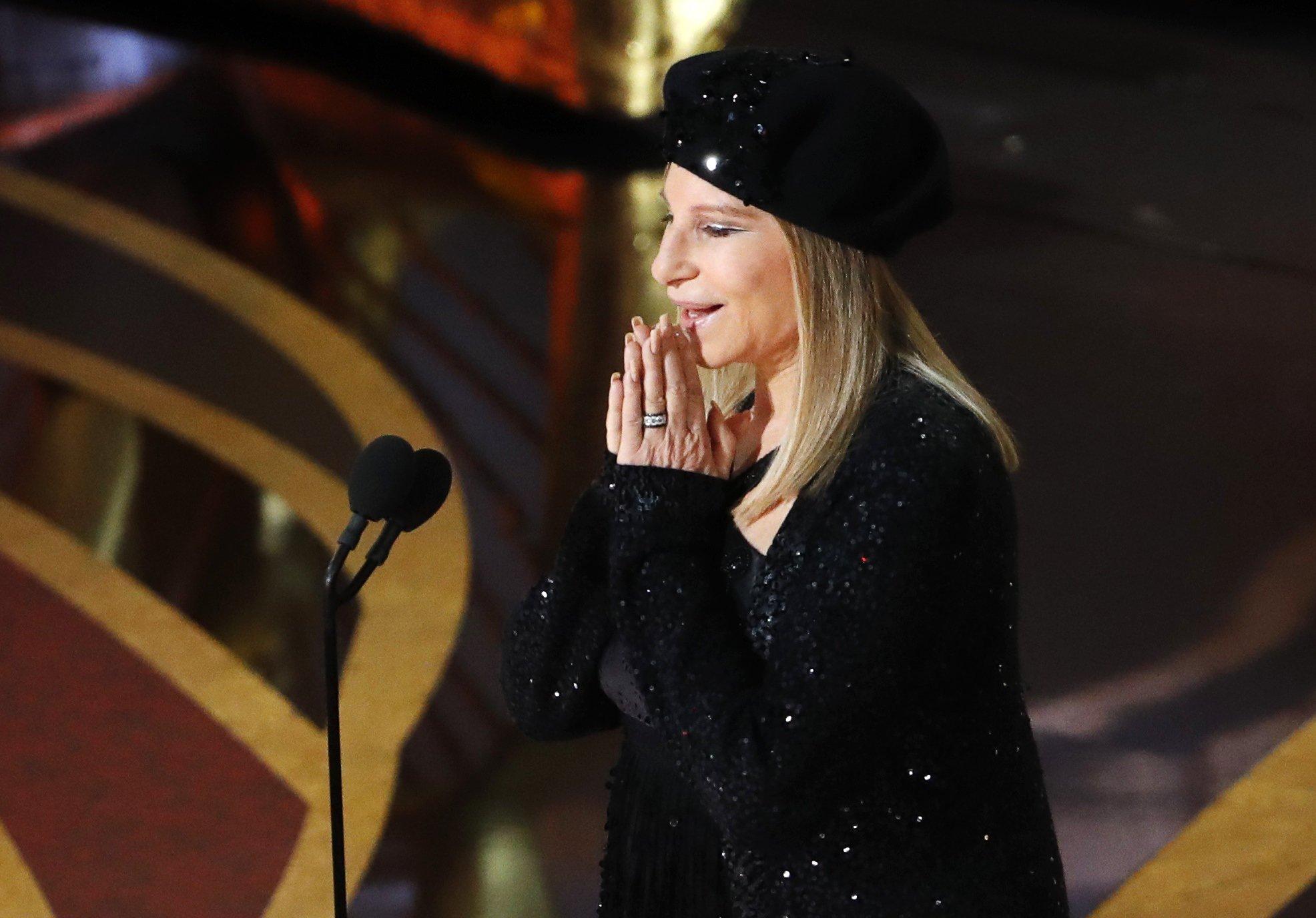 "91st Academy Awards - Oscars Show - Hollywood, Los Angeles, California, U.S., February 24, 2019. Barbra Streisand presents ""Blackkklansman"". REUTERS/Mike Blake"