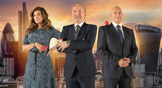 EMBARGOED TO 0001 TUESDAY FEBRUARY 26 For use in UK, Ireland or Benelux countries only Undated BBC handout photo of (left to right) Baroness Brady , Lord Sugar and Claude Littner from Celebrity Apprentice for Comic Relief. PRESS ASSOCIATION Photo. Issue date: Tuesday February 26, 2019. See PA story SHOWBIZ Allardyce. Photo credit should read: BBC/Comic Relief/PA Wire NOTE TO EDITORS: Not for use more than 21 days after issue. You may use this picture without charge only for the purpose of publicising or reporting on current BBC programming, personnel or other BBC output or activity within 21 days of issue. Any use after that time MUST be cleared through BBC Picture Publicity. Please credit the image to the BBC and any named photographer or independent programme maker, as described in the caption.