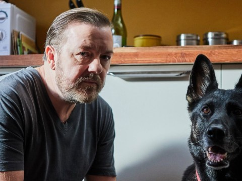 When is Ricky Gervais' Netflix show After Life released and who else is in the cast?