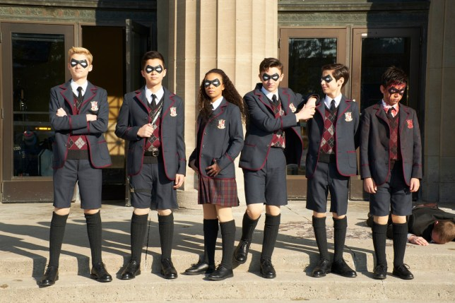 The Umbrella Academy season one on Netflix