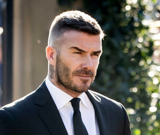 David Beckham arriving at Halifax Minster ahead of the funeral of Manchester United's former youth team coach Eric Harrison who died aged 81. PRESS ASSOCIATION Photo. Picture date: Tuesday February 26, 2019. Harrison, who forged the fledgling careers of the 'Class of 92' stars David Beckham, Ryan Giggs, Nicky Butt, Paul Scholes and Gary and Phil Neville, was diagnosed with dementia four years ago. Photo credit should read: Danny Lawson/PA Wire