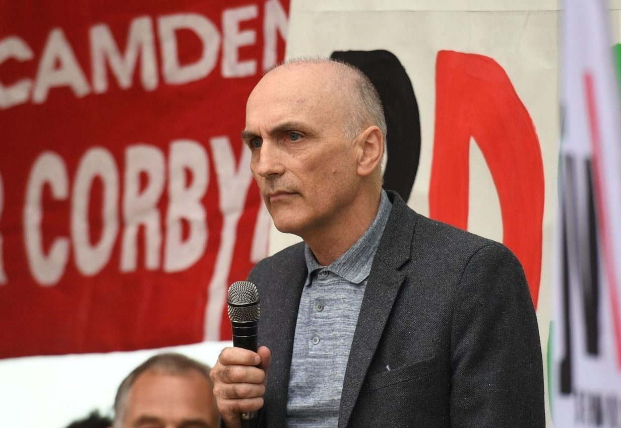 Chris Williamson MP outside at a meeting of the Labour National Executive Committee in London which is expected to decide on whether to adopt the International Holocaust Remembrance Alliance (IHRA) definition of anti-Semitism and its examples, which has been the subject of a bitter row within the party over recent months.
