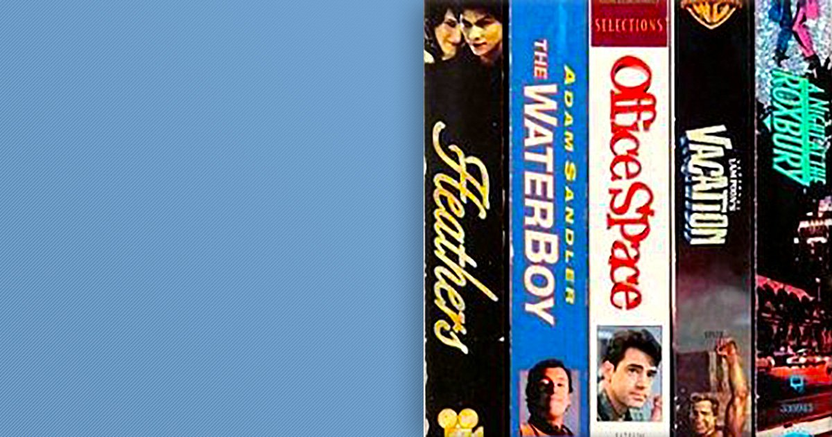 Urban Outfitters is selling a selection pack of old VHS tapes for £30