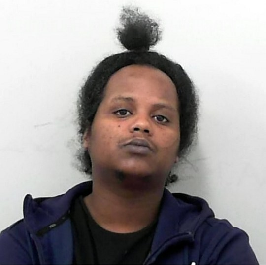 Ahmed Ibrahim Said, 32. See SWNS story SWBRphone.A rapist was caught after leaving his PHONE next to his victim - which she used to call for help.Ahmed Ibrahim Said, 32, has been jailed for eight years for raping a woman on a footpath in the St Werburgh?s area of Bristol. Said, of no fixed address, was identified after leaving his mobile phone at the scene of the attack, which the victim used to call for help.He was convicted of rape following a trial at Bristol Crown Court.