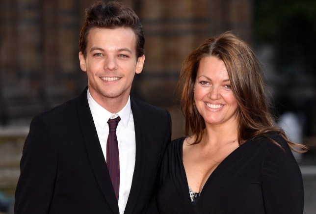 Mandatory Credit: Photo by David Fisher/REX/Shutterstock (4937673az) Louis Tomlinson and mother Johannah Deakin Believe In Magic Cinderella Ball, London, Britain - 10 Aug 2015