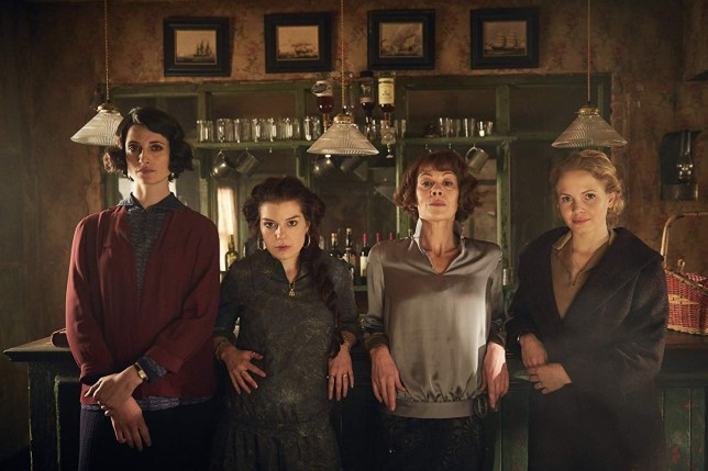 Picture: BBC First look at Helen McCrory in Peaky Blinders