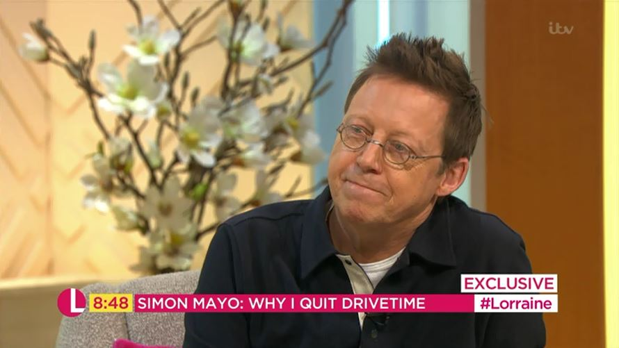 Simon Mayo told BBC teaming up with Jo Whiley on Radio 2 was a 'mistake'