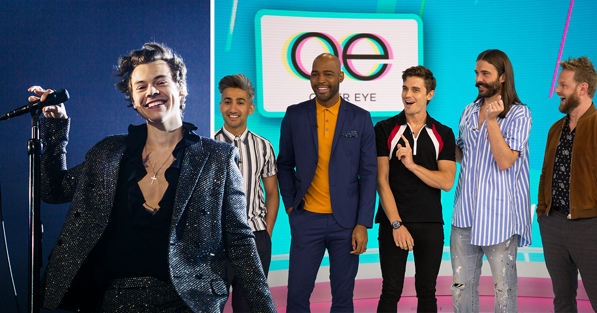 Harry Styles is the Fab Five member we were missing as he belts out Bohemian Rhapsody with Queer Eye stars