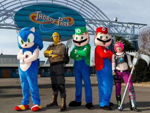 Thorpe Park is hosting an esports event with a very low barrier for cosplay