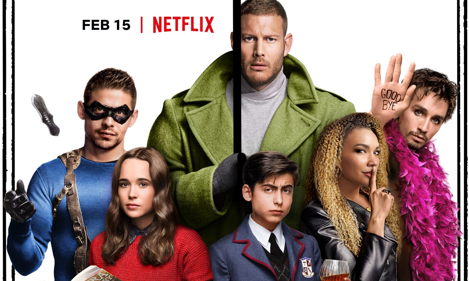 The Umbrella Academy 'gets renewed for season 2' as Gerard Way breathes life into Netflix after Marvel cull