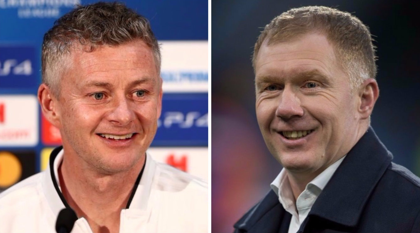Ole Gunnar Solskjaer sends best wishes to Paul Scholes after Oldham appointment