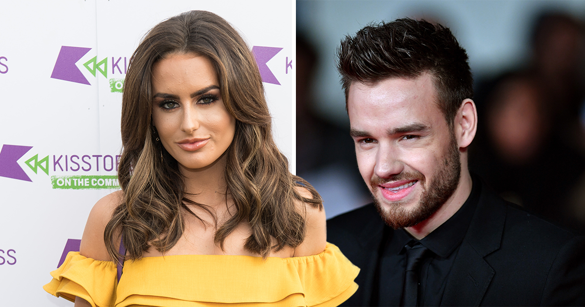 Love Island star Amber Davies insists she is 'just friends' with Liam Payne