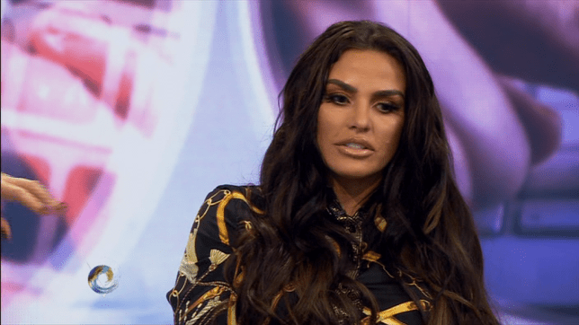 Katie Price confirmed she's planning to adopt a Nigerian orphan (Picture: BBC2)