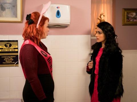 Coronation Street spoilers: Lolly has shock in store for Rana Habeeb tonight
