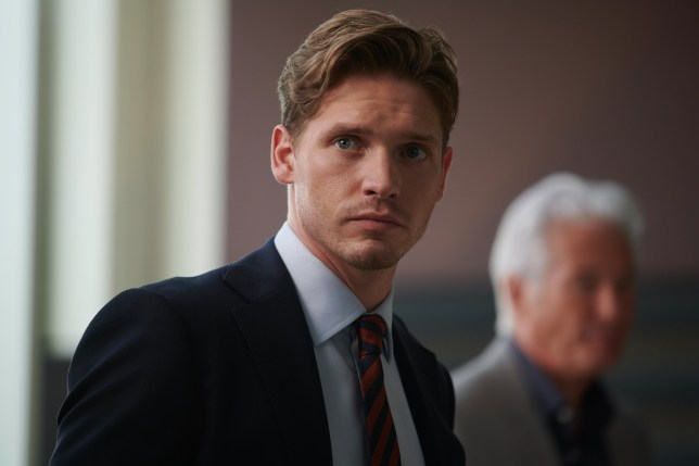 Billy Howle as Caden in MotherFatherSon