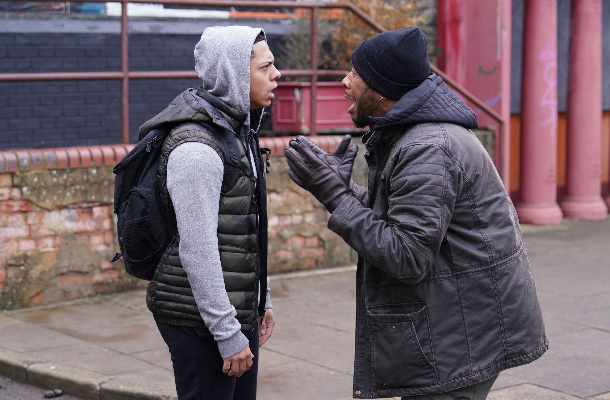 Keegan and Mitch in EastEnders