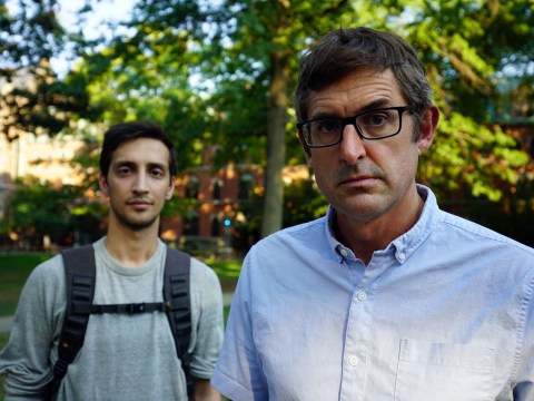 What time and channel is Louis Theroux's new documentary The Night In Question on tonight?