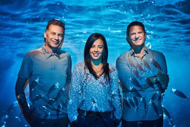 Chris Packham, Liz Bonnin and Steve Backshall host Blue Planet Live