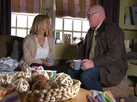 Emmerdale spoilers: Chas Dingle's baby news devastates Rhona Goskirk