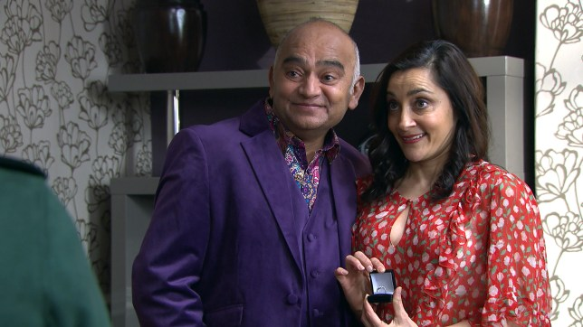 Manpreet and Rishi announce their marriage in Emmerdale