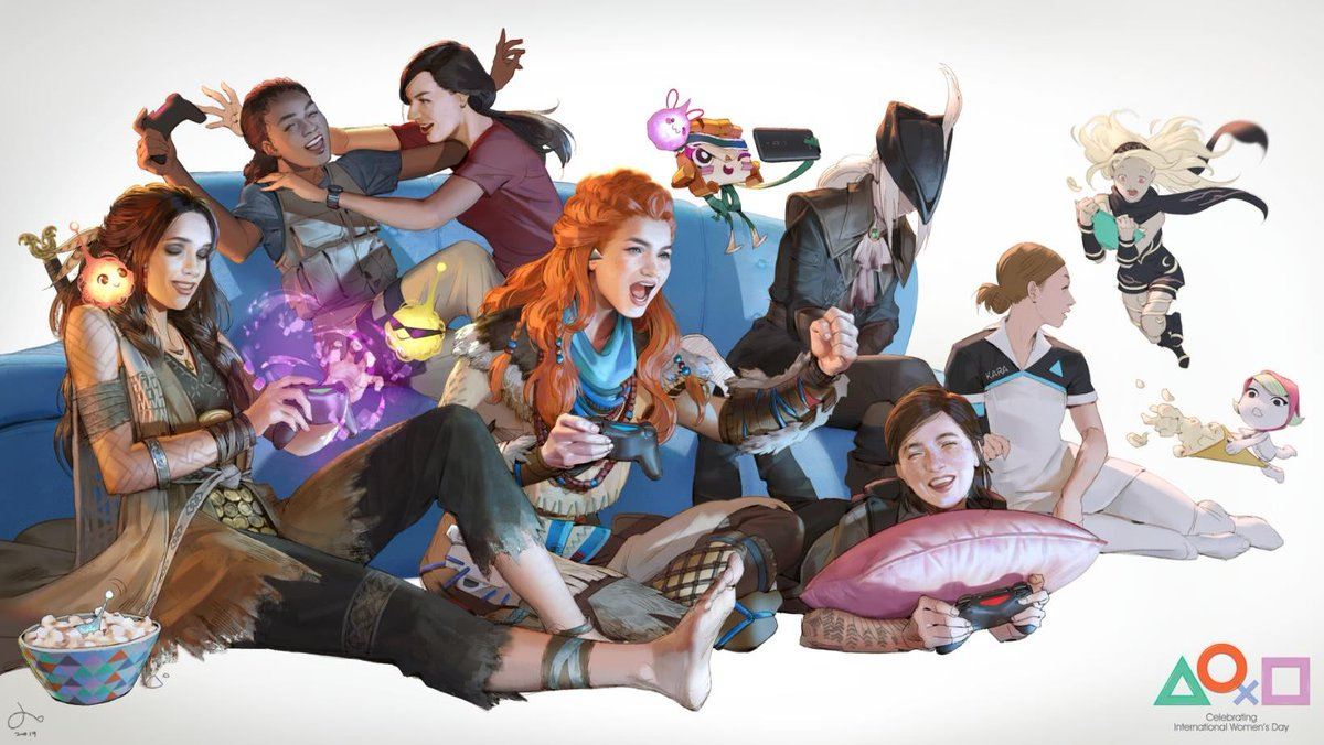 Sony releases new PS4 theme for International Women's Day 2019