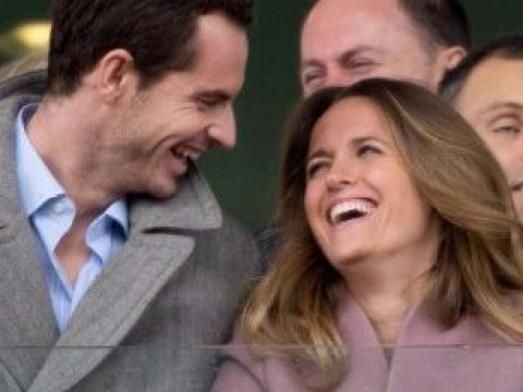 Andy Murray and wife Kim Sears only have eyes for each other on loved-up Cheltenham Festival date