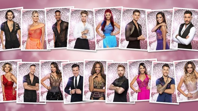 BBC Strictly professional line-up