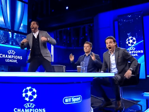 Rio Ferdinand wildly celebrates Manchester United penalty and calls for Mason Greenwood to take it