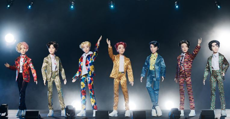 BTS ARMY praise Mattel for supporting their boys as dolls are officially unveiled
