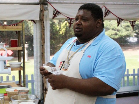 Why did Big Narstie pull out of The Great Celebrity Bake Off halfway through?