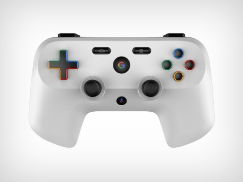 Google patent shows Project Stream game controller