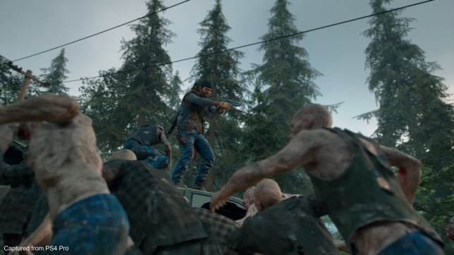 Days Gone - zombies, zombies everywhere