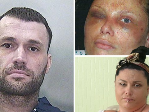 Man who forced ex to eat pictures of dead relatives is back in prison