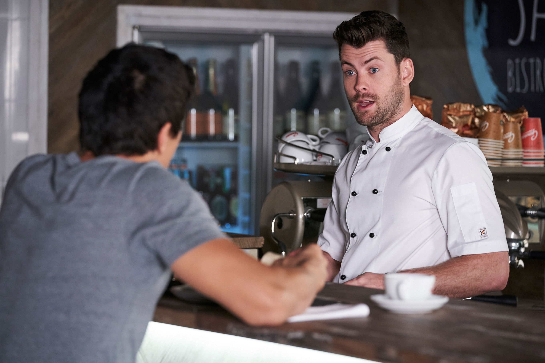 Brody (Jackson Haywood) and Justin (James Stewart)