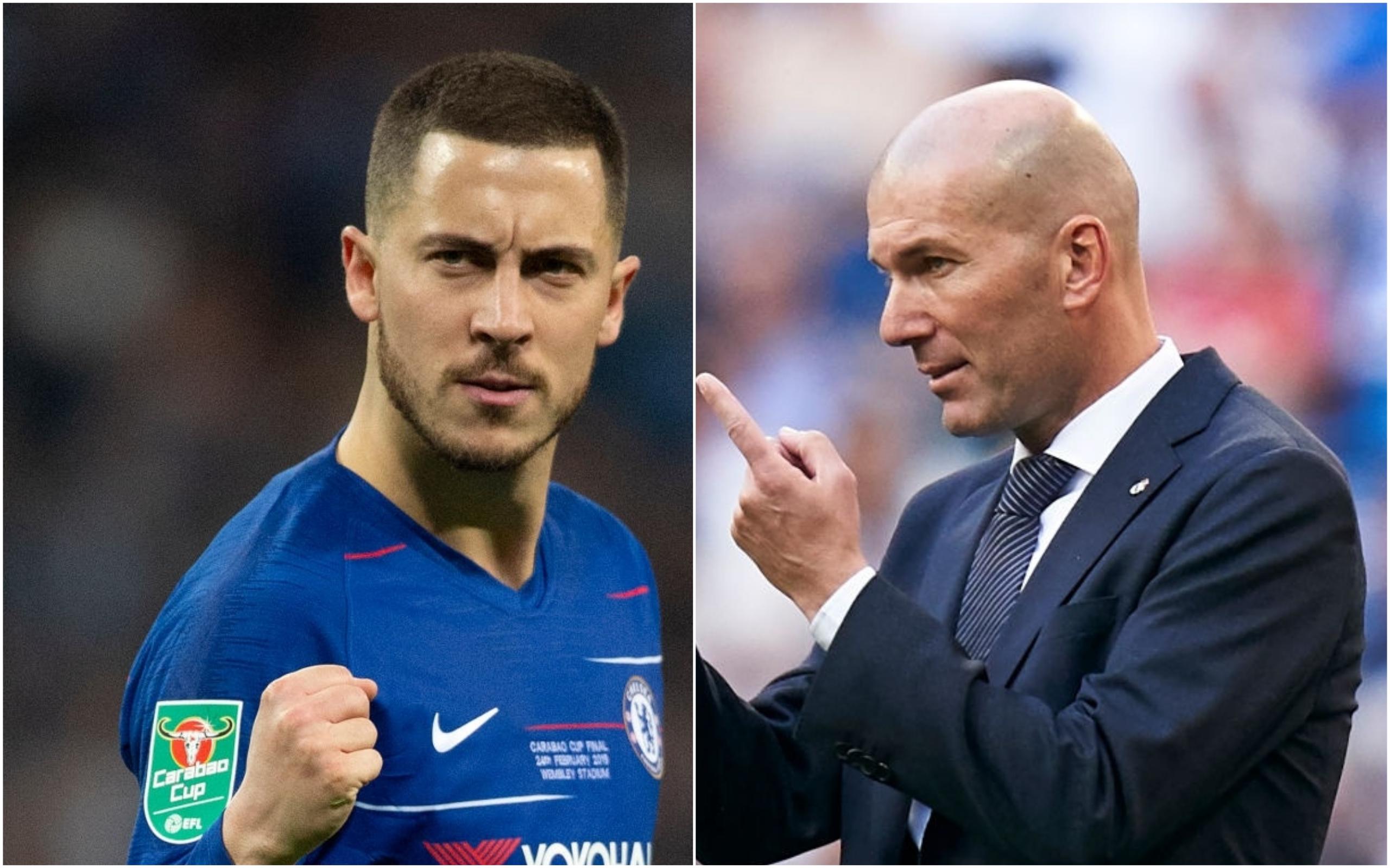Eden Hazard agrees Real Madrid move after talks with Zinedine Zidane