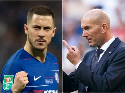 Eden Hazard agrees Real Madrid move after talks with Zinedine Zidane