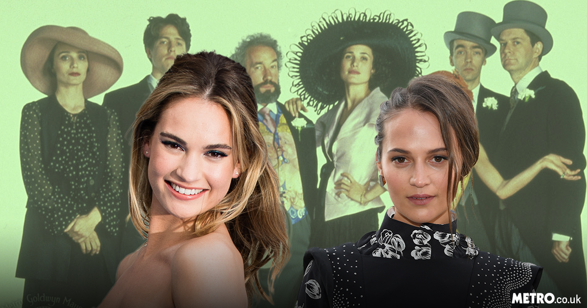 Lily James and Alicia Vikander confirmed for Four Weddings And A Funeral sequel