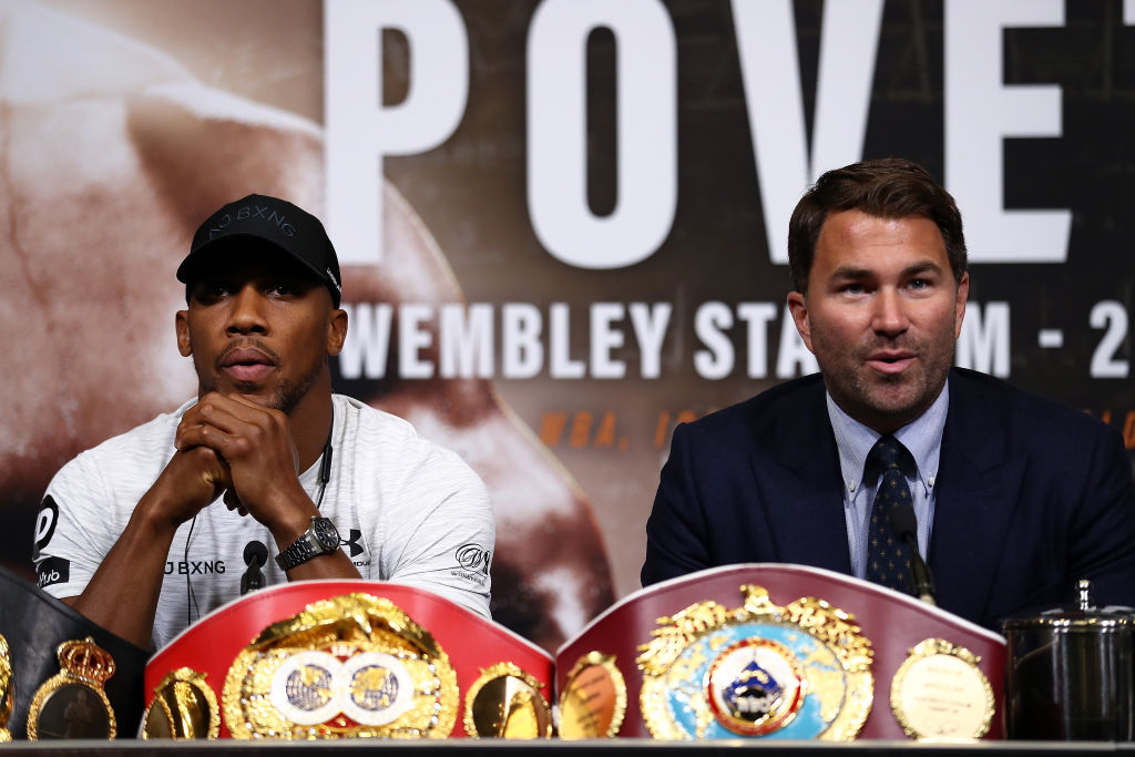 Eddie Hearn responds to Deontay Wilder's 50/50 demand and names new date for unification fight