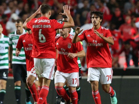 Manchester United ready £155million swoop for Benfica duo Ruben Dias and Joao Felix